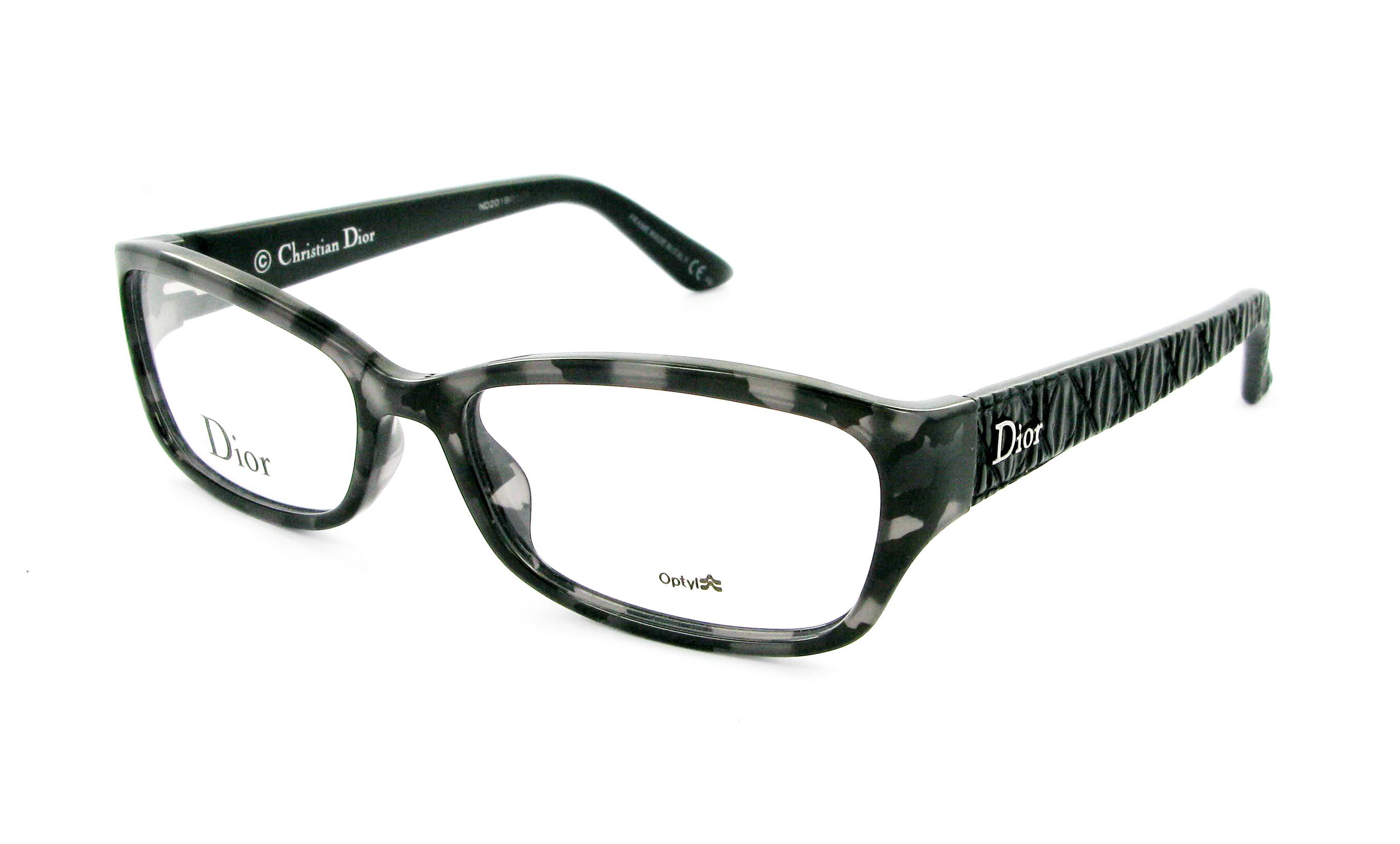 Eyeglasses DIOR CD 3235 KF9 53/16 Woman Gris / Noir ...
